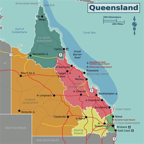 Queensland – Travel guide at Wikivoyage