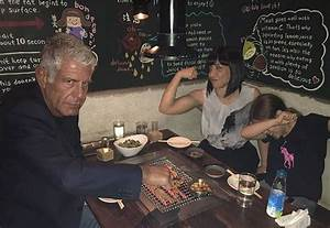Anthony Bourdain Daughter Ariane, Quotes on Fatherhood ...
