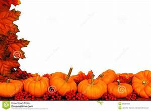 Autumn corner border stock photo. Image of harvesting ...