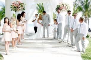 wedding blush dresses light gray suits wedding