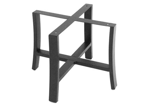meadowcraft maddux wrought iron end table base 4412370 01