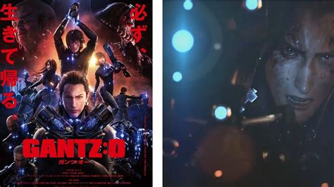 gantz anime movie ah anime review gantz o movie 2016 youtube