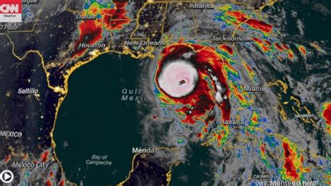 Hurricane Michael Strengthens To Category 4