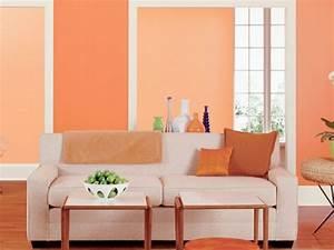 Küchen Wände Farbig Gestalten : orange wohnzimmer design 40 bilder ~ Bigdaddyawards.com Haus und Dekorationen