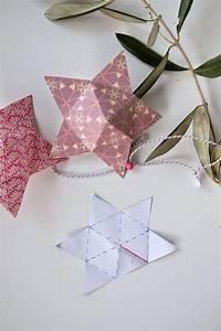 Origami Stern 5 Zacken : sterne falten basteln weihnachten papiersterne basteln und weihnachten ~ Watch28wear.com Haus und Dekorationen