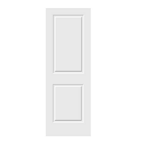 doors interior home depot jeld wen 28 in x 80 in c2020 primed 2 panel solid