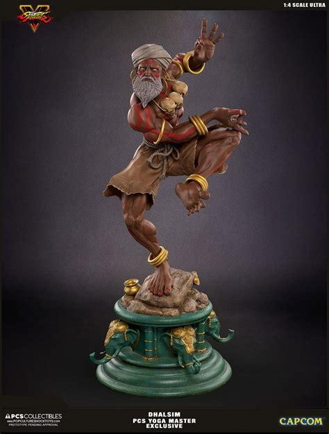 Street Fighter V Ultra Statue 14 Dhalsim Yoga Master