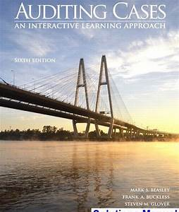 Auditing Cases An Interactive Learning Approach 6th