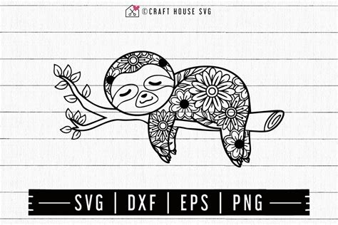 Mandala svg free vector we have about (85,022 files) free vector in ai, eps, cdr, svg vector illustration graphic art design format. FREE Sloth Mandala SVG - Craft House SVG