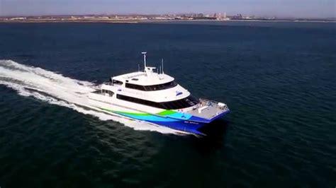 Fast Boat In San Francisco by San Francisco Bay Ferry Bay Breeze Youtube