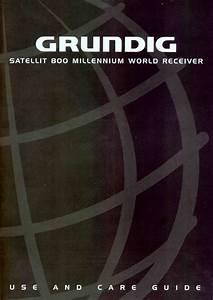 Grundig Satellit 800 Millennium Users Manual Frequency Range