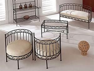Fauteuil Fer Forgé : fauteuil fer forg ~ Teatrodelosmanantiales.com Idées de Décoration