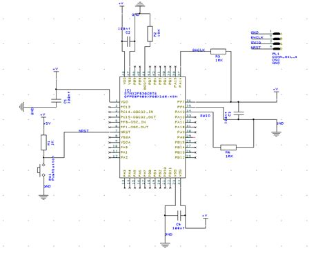 Power Supply Microcontroller Vdd Vss Pins Are