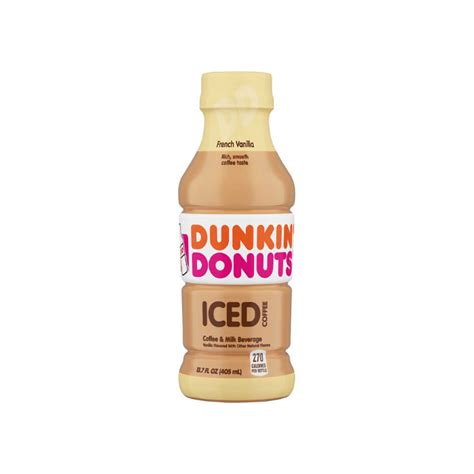 All of our blends make a great cup of coffee, whether hot or iced, so there's really no bad. Telman: Dunkin Donuts Iced Coffee - French Vanilla (12/case)