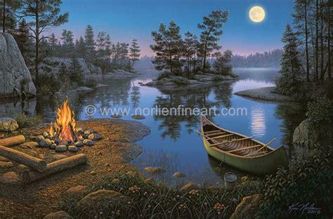 moonight bay campfire  kim norlien camping campfire
