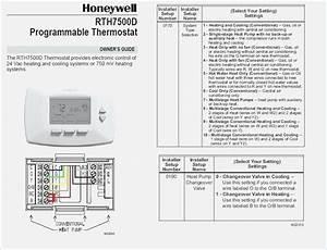 Wiring Diagram Honeywell Thermostat  U2013 Vivresaville Com