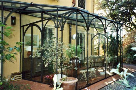 veranda in vetro veranda in ferro battuto e vetro con realizzazione