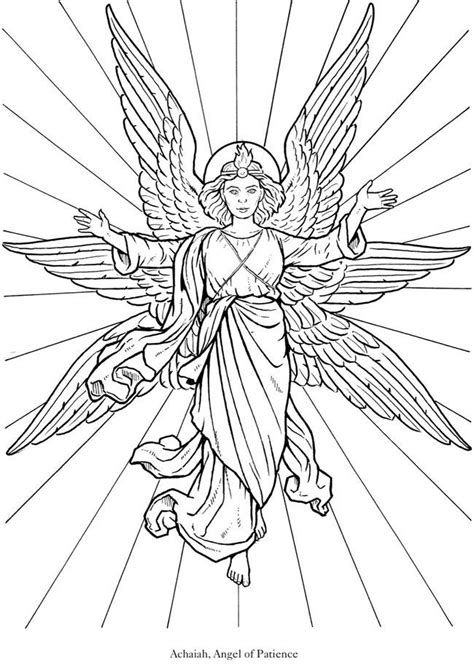 angel coloring book pages coloring home