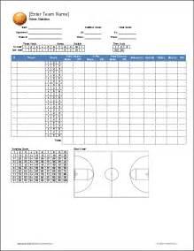 Basketball Score Sheet Excel Template www imgarcade com