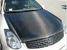 OEM Style Carbon Fiber Hood For Infiniti G35 Coupe 20032007