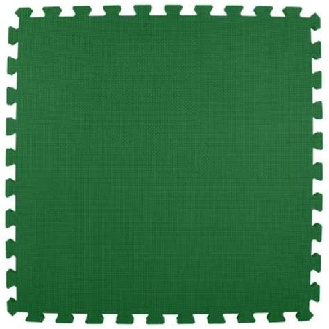 greatmats premium forest green 24 in x 24 in x 5 8 in