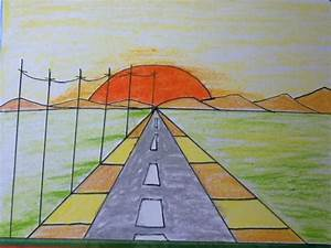 sunset drawing for kids in simple steps - YouTube