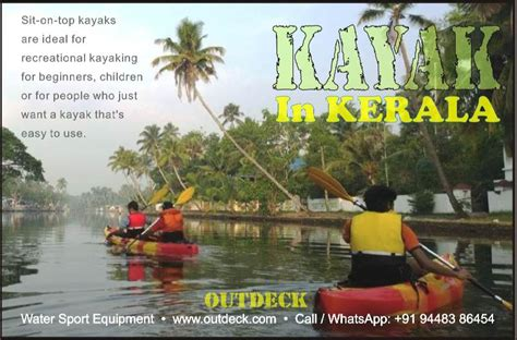 Kayak Boats In India by Kayaks India