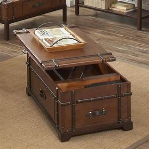 steamer trunk lift top coffee table 38703 latitudes With cheap trunk coffee table