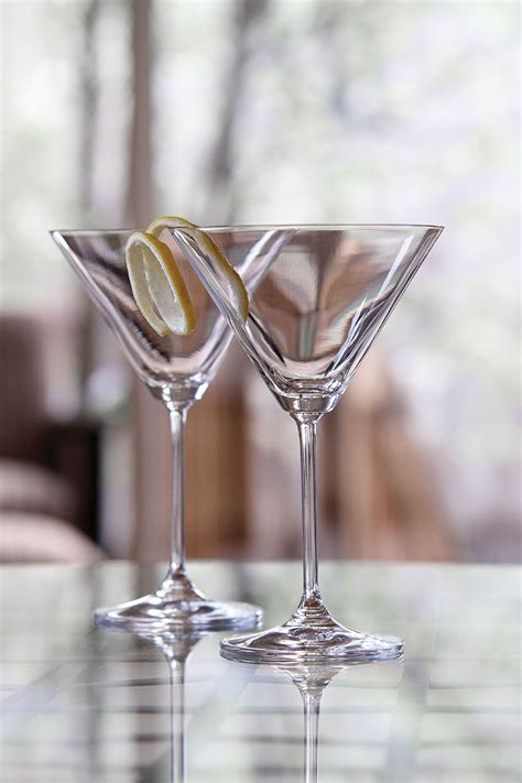 vintage martini marquis by waterford vintage oversized martini glasses pair