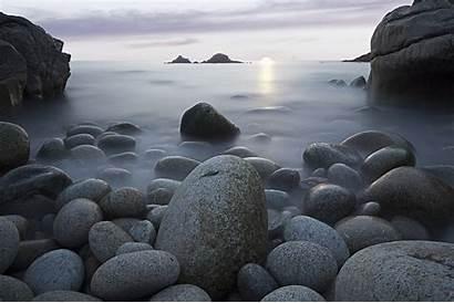 Rocks Nature Sea Stones Sky Beach Wallpapers