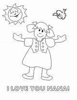 Coloring Pages Grandpa Mom Nana Happy Birthday Grandma Sheets Boyfriend Dad Printables Say Helpers Community Romantic Poetry Library Clipart Duty sketch template
