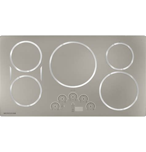 monogram  induction cooktop zhursjss ge appliances