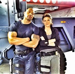 The Rock and Gina Carano in Fast 6 - HeyUGuys