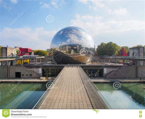 geode imax cinema theater  park la villette october