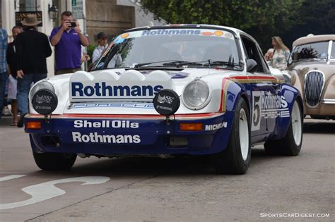 rothmans porsche rally carmel concours on the avenue 2015 photo gallery