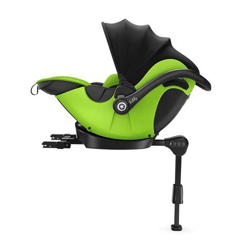 siege auto non isofix siège auto evoluna i size avec base isofix lime green