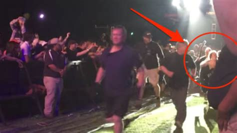 acdc angus young runs  cameraman   realized
