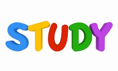 Study Word Clipart Clip Studies Studying Luck