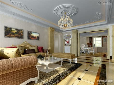 Interior  High Ceiling Decorating Ideas Glamorous Simple