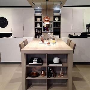 Aménagement Cuisine En U : ordinaire amenagement ilot central cuisine 3 cuisine en ~ Premium-room.com Idées de Décoration
