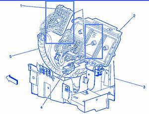 Gmc Seira 2500 6 0 2000 Underhood Electrical Circuit Wiring Diagram