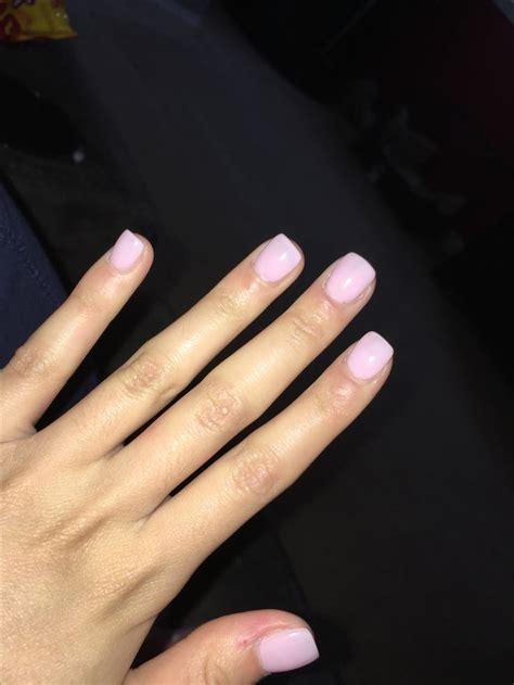 dnd  kiss    squoval acrylic nails fall