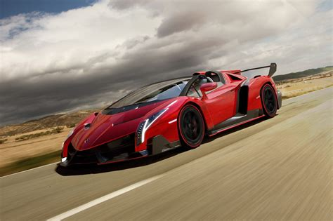 Lamborghini's New Sexy Veneno Roadster Is Ten Times More