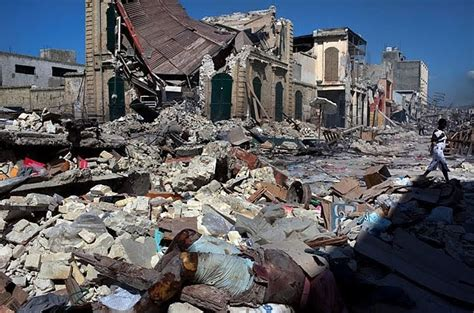 haitian catastrophe raises spectre  earthquake weapon