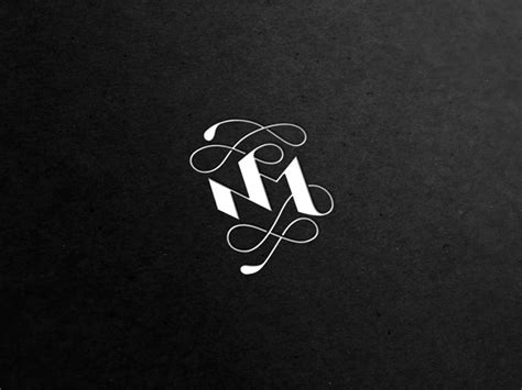 modern examples  monogram designs web graphic design bashooka