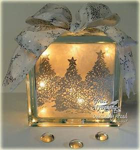 Th ink ing of you a glass block gift idea for Glass block ideas