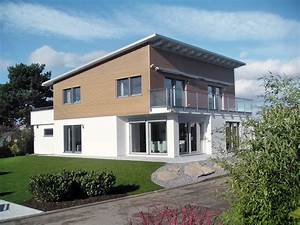 SchwörerHaus Bauhausstil mit Pultdach in Mülheim Kärlich