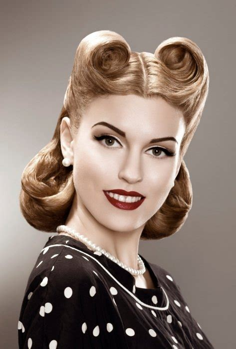 1950s Pin Up Hairstyles For Hair by 50s Hairstyles Pin Up Hairstyles