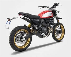 Ducati Scrambler 800 : moto renzo zard exhaust slip on silencer ducati scrambler 800 desert sled ~ Medecine-chirurgie-esthetiques.com Avis de Voitures