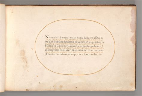 Anonymous | Calligraphic Excersize in Latin | The ...